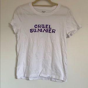 """Madewell Tops - Madewell """"Cruel Summer"""" Tee"""